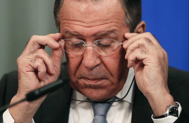 Ministro de Exteriores ruso, Serguéi Lavrov,   // FOTO EFE/Yuri Kochetkov