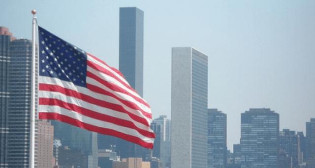 Bandera EEUU. Foto Archivo.