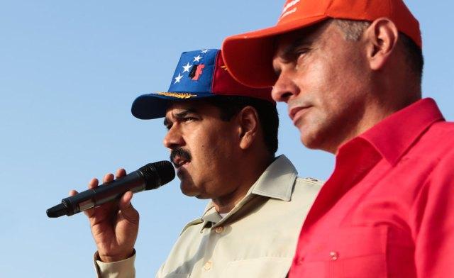 Maduro y Hebert García Plaza. Archivo.