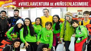 Niños en la Cumbre regresaron a Venezuela, y así los recibieron