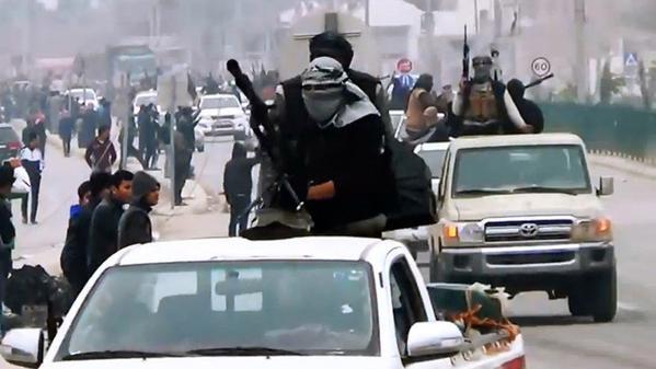 Imagen de una tropa del Estado Islámico. Archivo