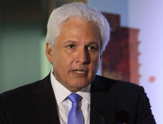 Foto: El presidente de la SIP, Gustavo Mohme / EFE
