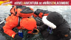 ¿Te imaginas cómo sería caminar sobre el lago de Maracaibo congelado?