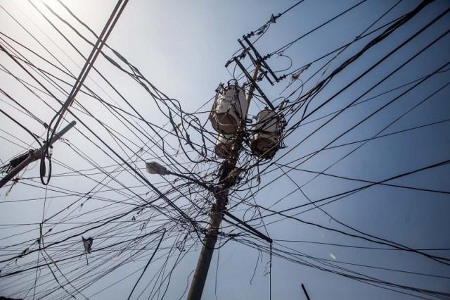 Torre de electricidad en los Magallanes de Catia en Caracas / Foto:EFE (Referencial)
