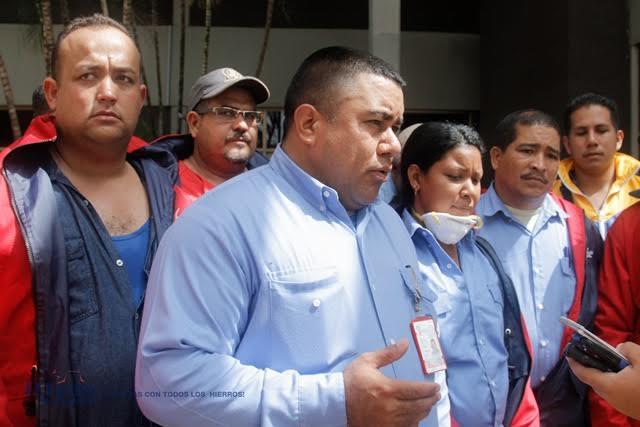 Foto: Alejandro Álvarez, secretario general del Sindicato de Trabajadores de la Industria Siderúrgica Nacional (Sidernac) / Nota de prensa