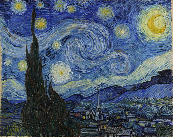 Foto: The Starry Night (1889) de Vincent van Gogh / batanga.com