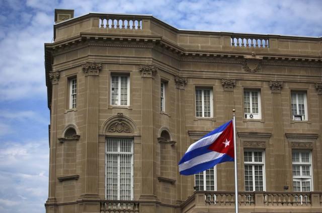 La embajada de Cuba en Washington. Foto: Archivo