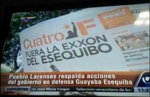 """Nada más """"revolucionario"""" que VTV mencione """"La Guayaba Esequiba"""" (chinchurrios)"""