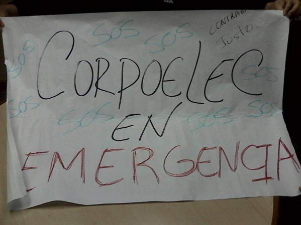 CorpoelecGuatireProtesta