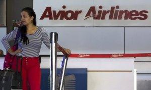 El Airbus A340-300 de Avior Airlines calienta sus motores en Margarita