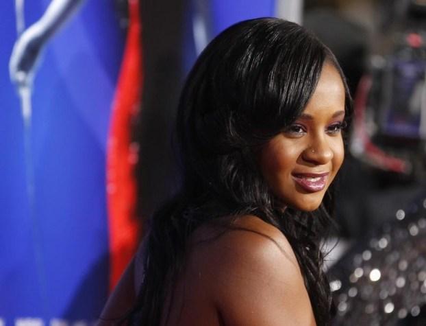 La hija de Whitney Houston, Bobbi Kristina Brown (REUTERS/Fred Prouser)