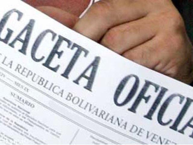 """En Gaceta convocatoria a la AN Constituyente """"comunal"""""""