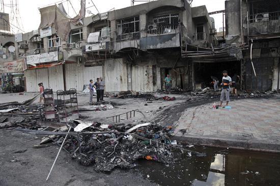Foto: Irak afronta desde junio de 2014 una cruenta guerra contra la organización yihadista Estado Islámico (EI) / EFE