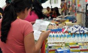 Se necesitan más de 100 millones de bolívares para comprar una lista escolar
