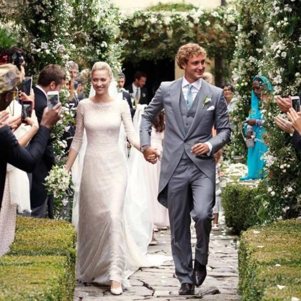 Los vestidos de la novia fueron diseñados por Armani