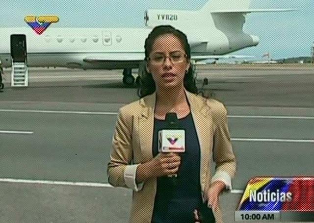 El canciller de Cuba agarró la colita en este Falcon YV 828