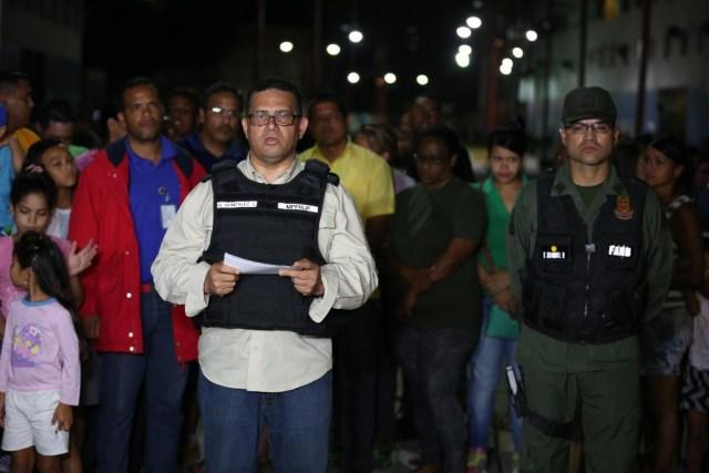 Foto: El titular para Interior, Justicia y Paz, Gustavo González López, ofreciendio un balance de la Operación de Liberación y Protección del Pueblo (OLP) / AVN