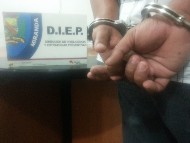 Foto: Prensa Policía de Miranda