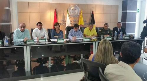 canciller colombiana en Cúcuta