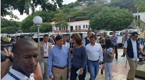 canciller colombiana en frontera 2