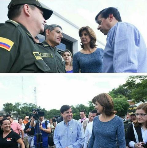 canciller colombiana en frontera