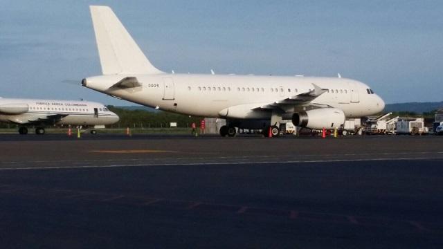 El FAV 0001 en Cartagena el 26 de agosto de 2015 / lapatilla.com