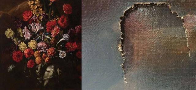 """Foto: La supuesta pintura """"Flores"""" del artista italiano Paolo Porpora / noticias.com"""