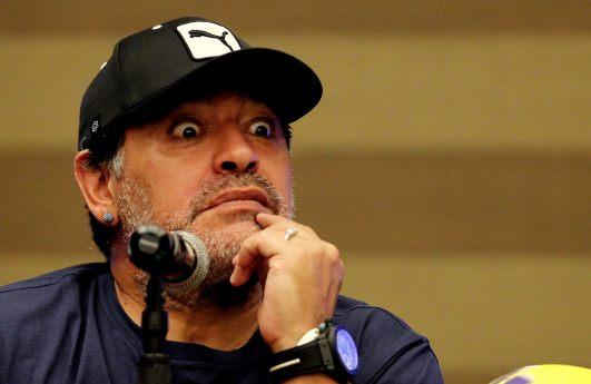 Foto: Diego Maradona / EFE