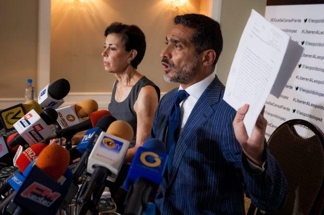 El abogado de Leopoldo López EFE/Miguel Gutiérrez