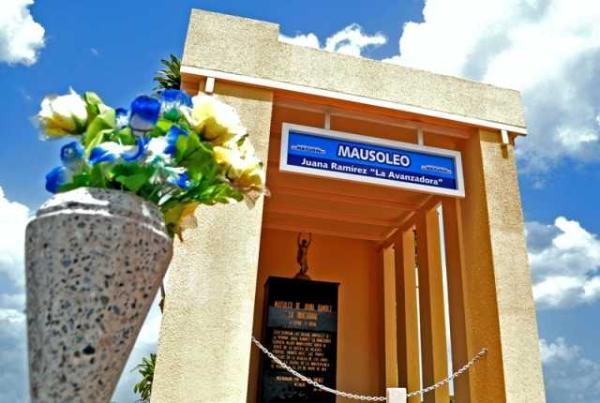 Foto: Los restos de la heroína monaguense yacen en el cementerio de San Vicente / laprensademonagas.info