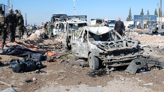 Carro bomba AFP PHOTO SANA Damasco