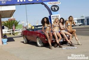 Nenas y Naves presenta: Las mamis de Sports Illustrated y el hermoso Camaro