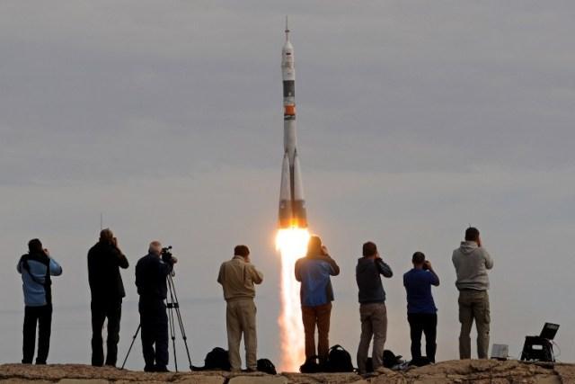 KAZAKHSTAN-RUSSIA-DENMARK-ISS-SPACE