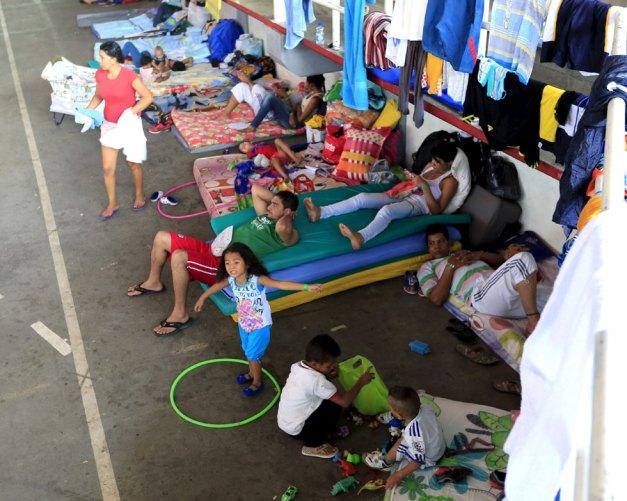 Los deportados en un refugio en Cúcuta (Foto Reuters)