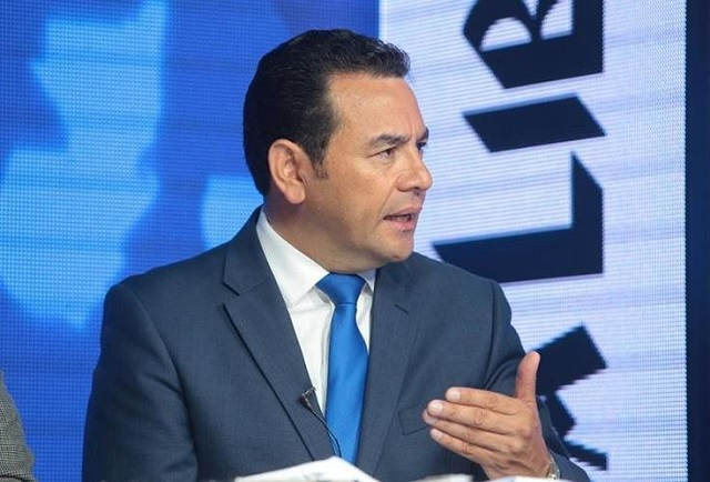 Jimmy Morales / Prensa Libre