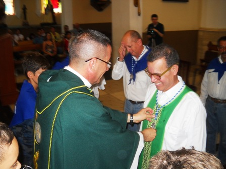 Foto: Luis Vicente León incorporado a la cofradía de la Virgen de Regla / fronteradigital.com.ve