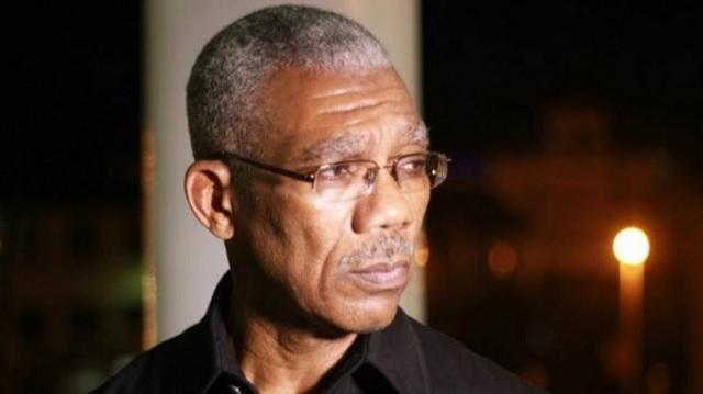 David Granger, presidente de Guyana / archivo