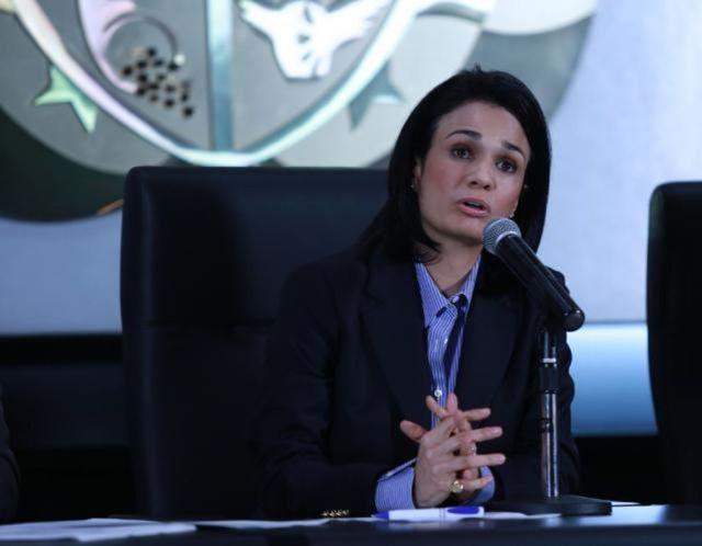 La vicepresidenta de Panamá, Isabel De Saint Malo (Foto: AFP)