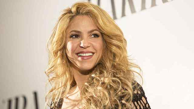 BARCELONA, SPAIN - MARCH 20: Colombian singer Shakira poses during the presentation of her new album 'Shakira' in Barcelona, Spain on March 20, 2014. (Photo by Albert Llop/Anadolu Agency/Getty Images)
