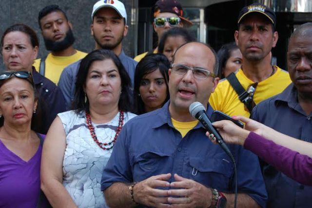 Jorge Millán, diputado de Primero Justicia ante la AN// Foto: Prensa