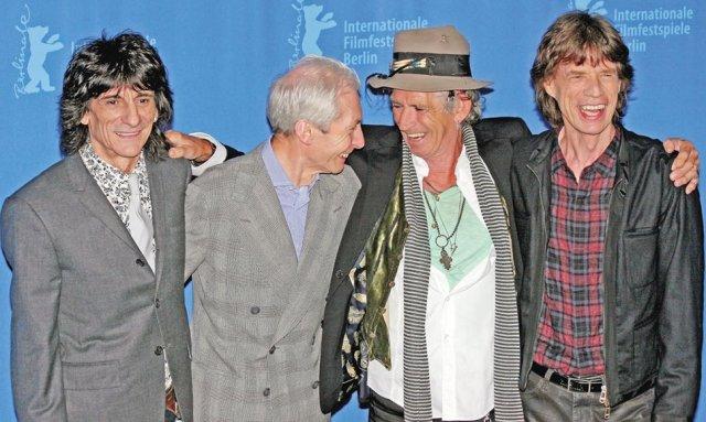 Los miembros de los Rolling Stones.EFE