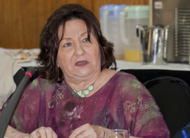 La presidenta de Fapuv, Lourdes Viloria