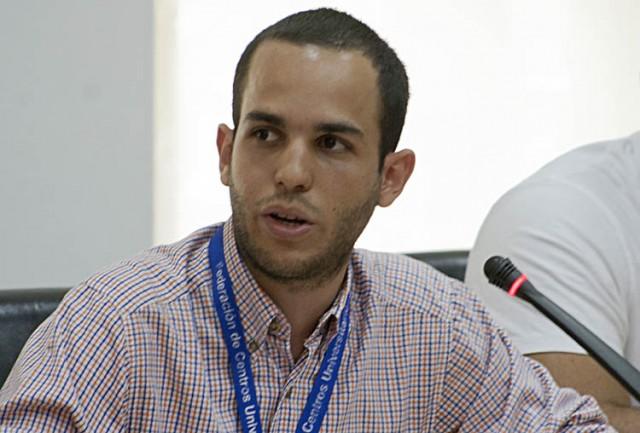 El representante de la FCU, Hasler Iglesias