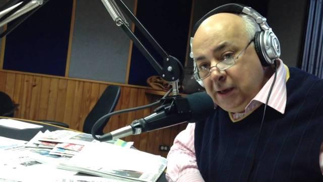 El locutor venezolano, César Miguel Rondón