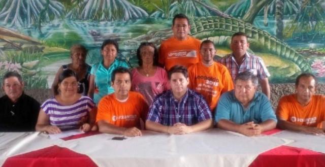 Parte de la dirigencia de Voluntad Popular en Ciudad Bolívar