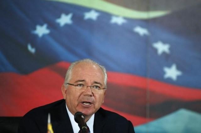 El embajador ante las Naciones Unidas de Venezuela, Rafael Ramírez REUTERS/Jorge Silva