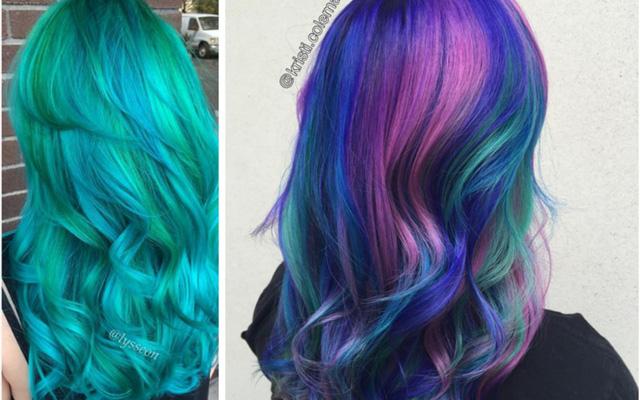 Pelo de diferentes colores