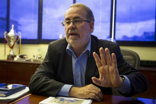 El presidente de la FVF, Laureano González EFE/Archivo