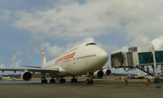 Conviasa reemprende los vuelos Caracas-Madrid tras días sin servicio