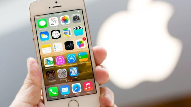 Imagen del iPhone5s. Foto: Archivo